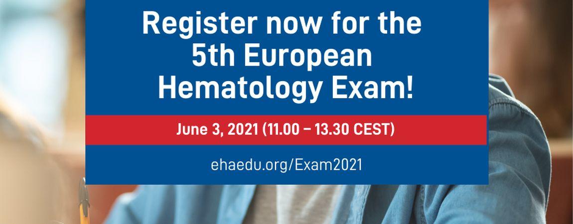 <b>5th European Hematology Exam</b>